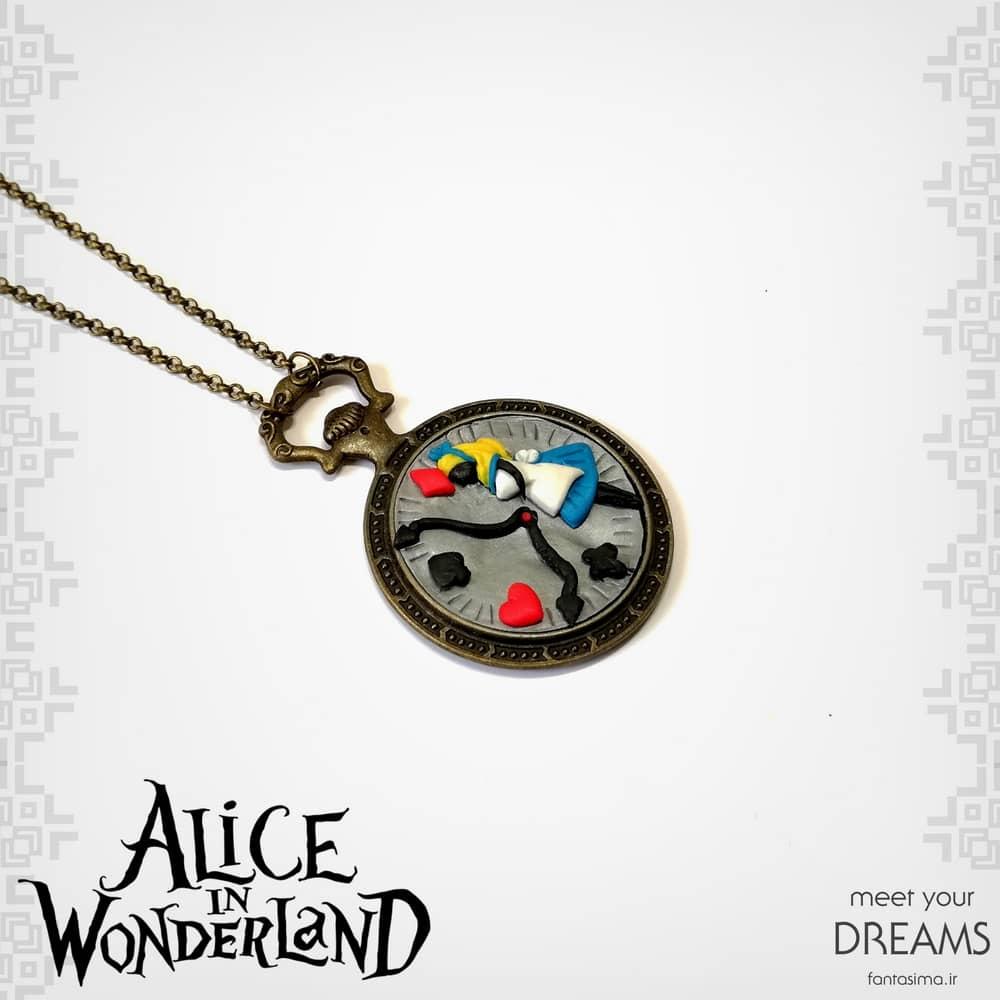گردنبند دست ساز آلیس