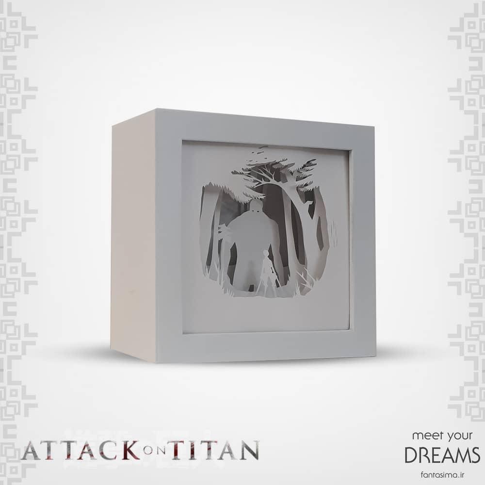 فانتزیآرت شدوباکس میکاسا - attak on titan
