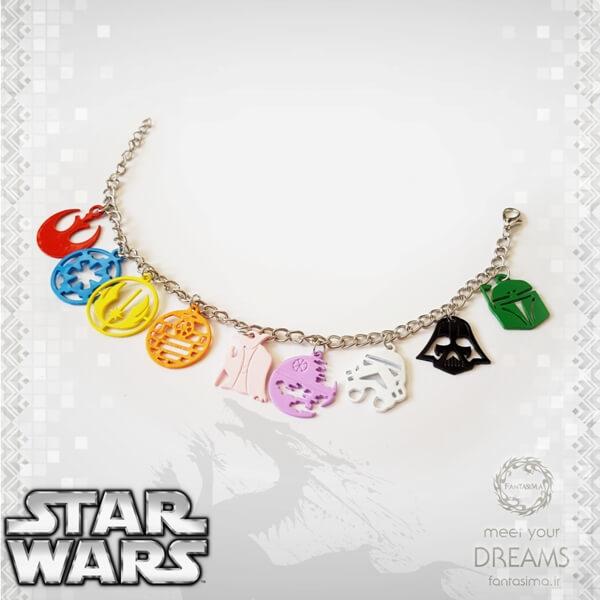 دستبند نمادهای جنگ ستارگان