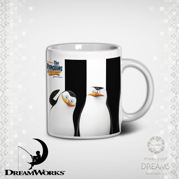 ماگ پنگوئن های ماداگاسکار - مدل دوم