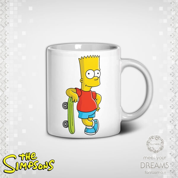 ماگ سیمپسون ها- مدل سوم