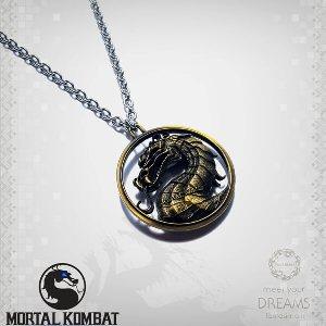گردنبند طلایی مورتال کامبت