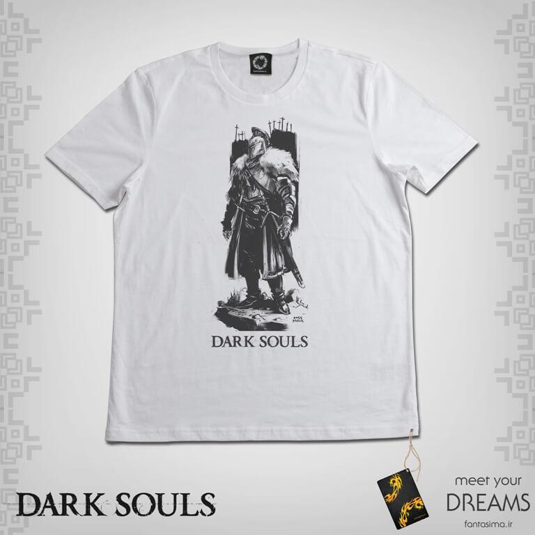 تیشرت دارک سولز - مبارز