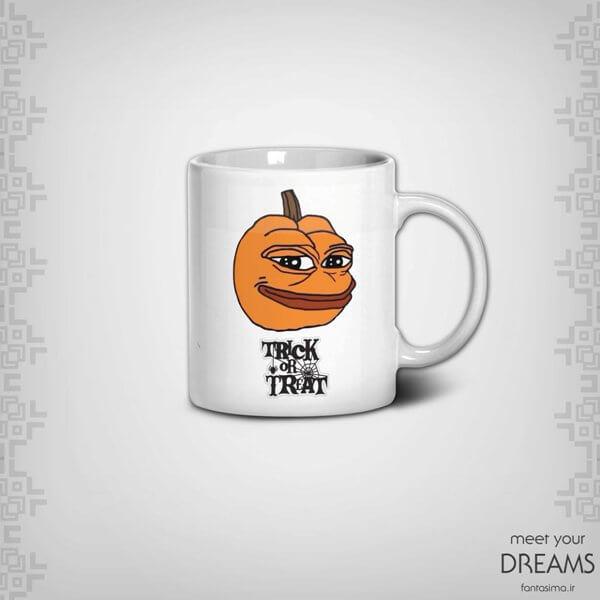 ماگ په په قورباغه - طرح هالووین