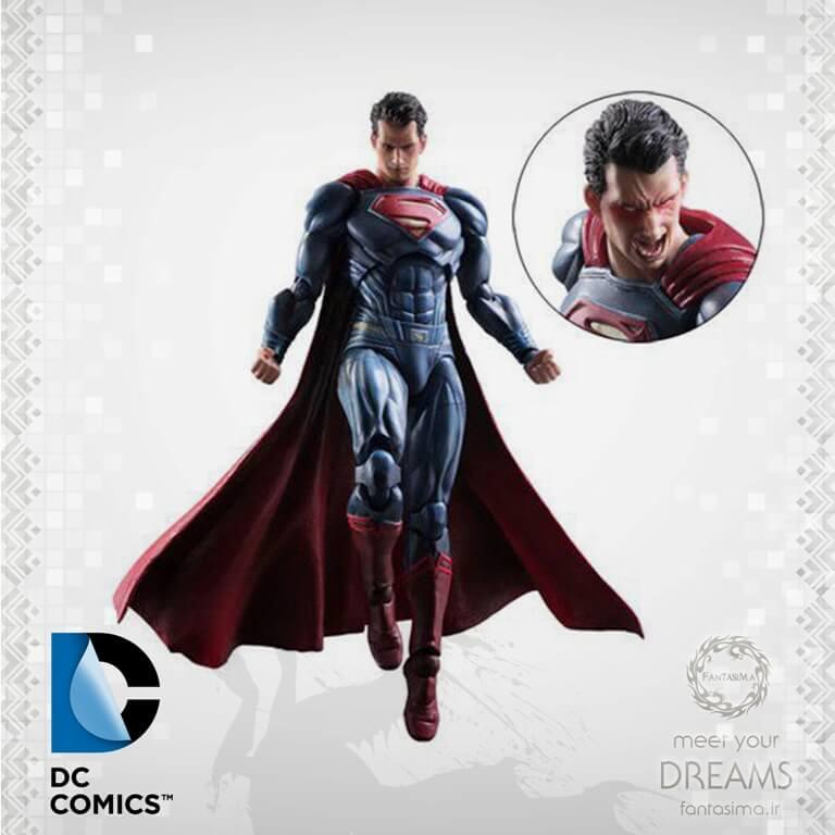 اکشن فیگور سوپرمن - پلی آرتز