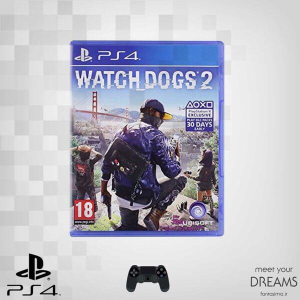 بازی  watchdogs 2