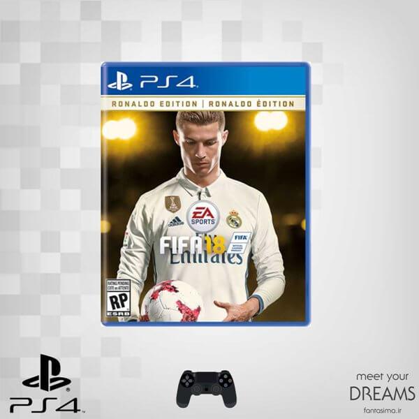 بازی fifa 18 : ronaldo edition