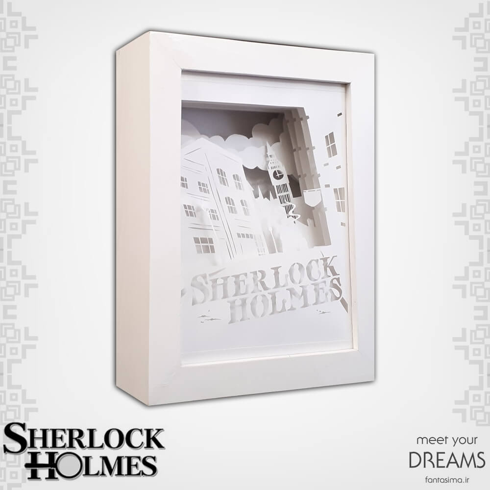 فانتزیآرت شدو باکس شرلوک هلمز