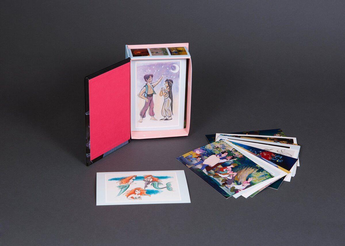 کارت پستال های پرنسس های دیزنی - اورجینال