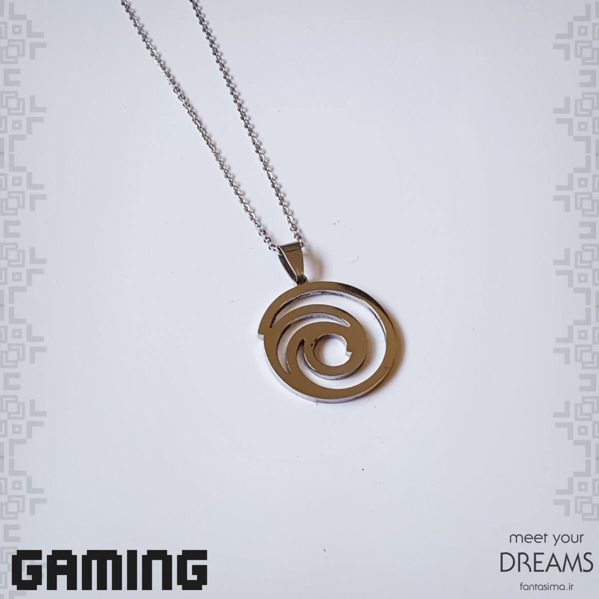 گردنبند استیل نماد یوبی سافت
