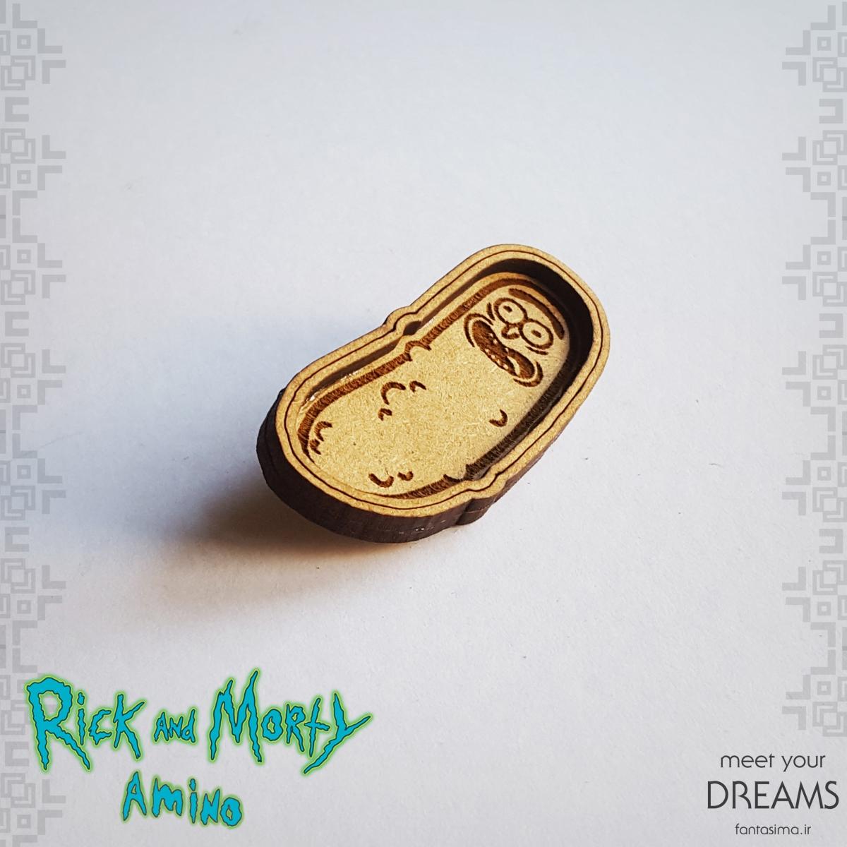 پیکسل چوبی ریک و مورتی pickle rick