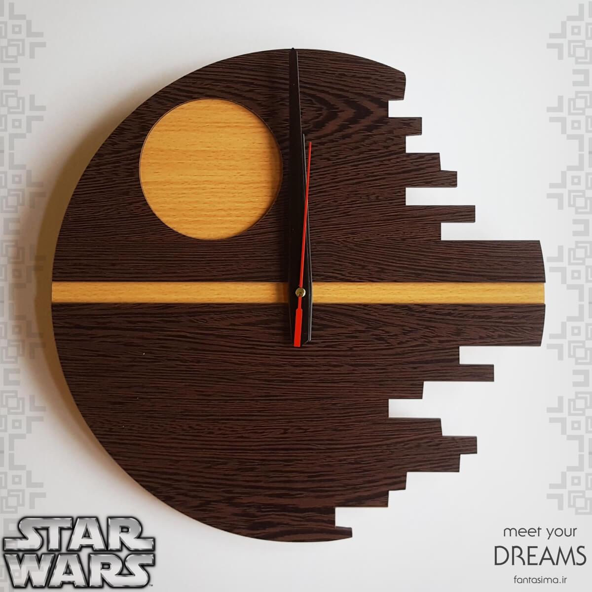 فانتزیآرت ساعت دیواری ستاره مرگ