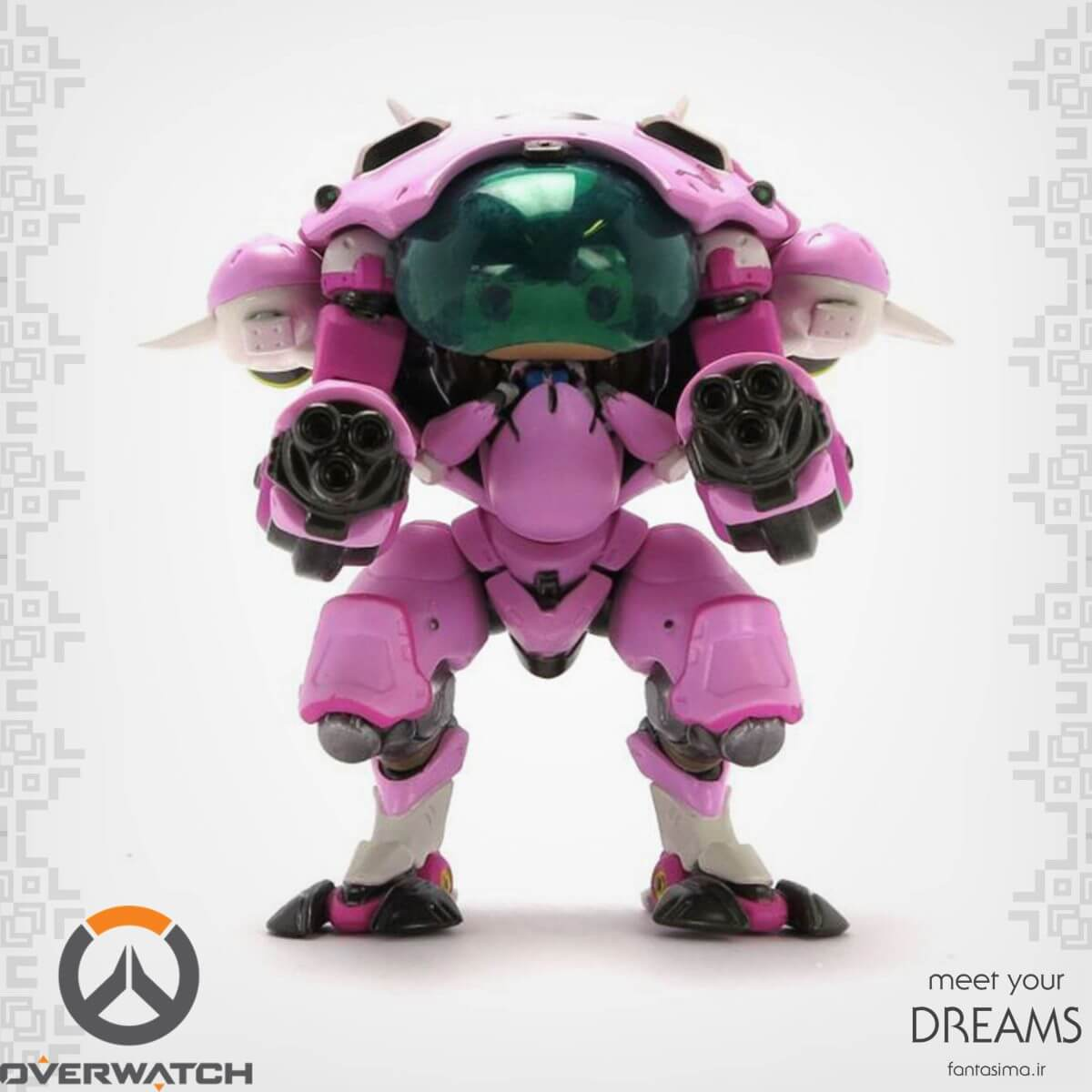 فانکوپاپ D.VA with meka