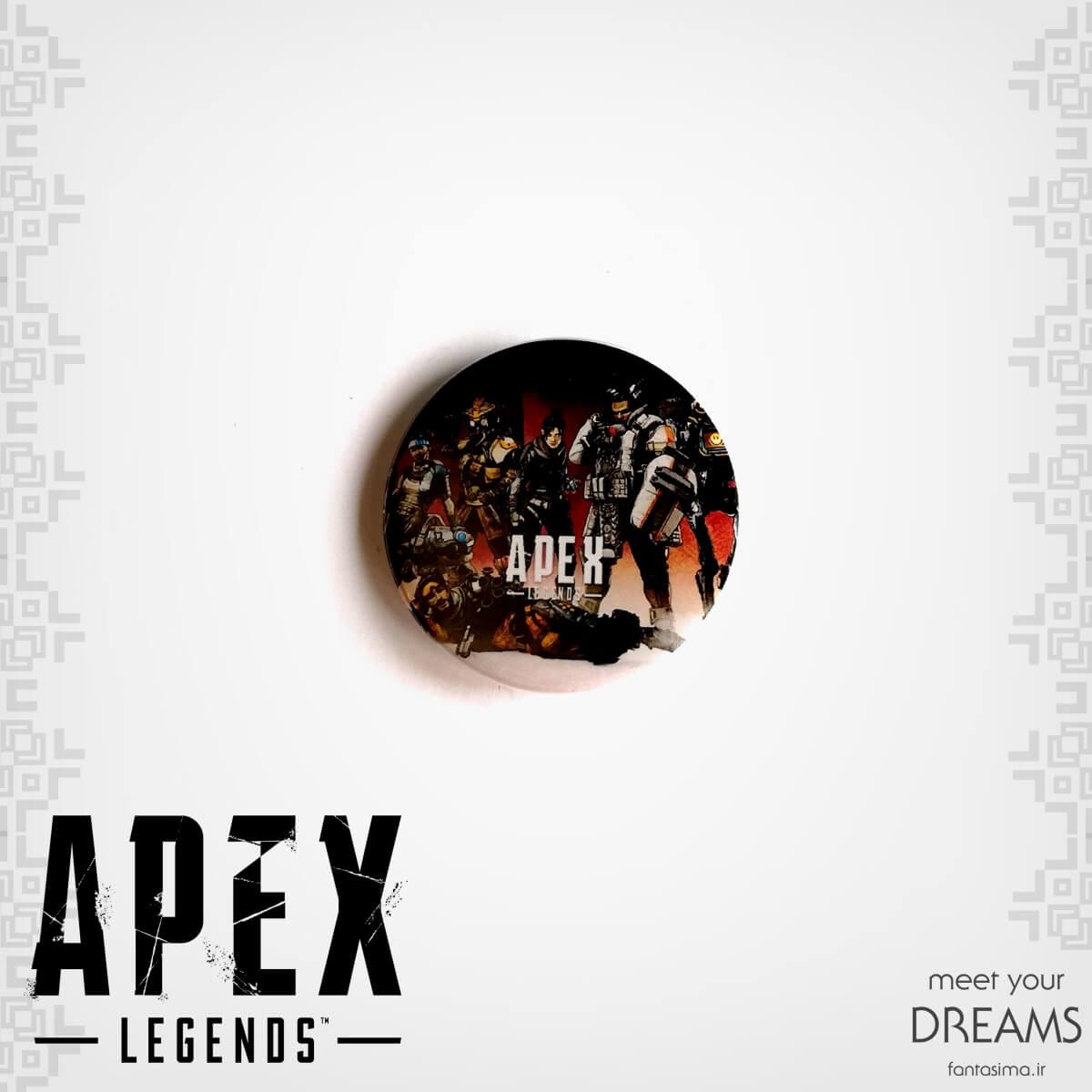 پیکسل فلزی apex legends