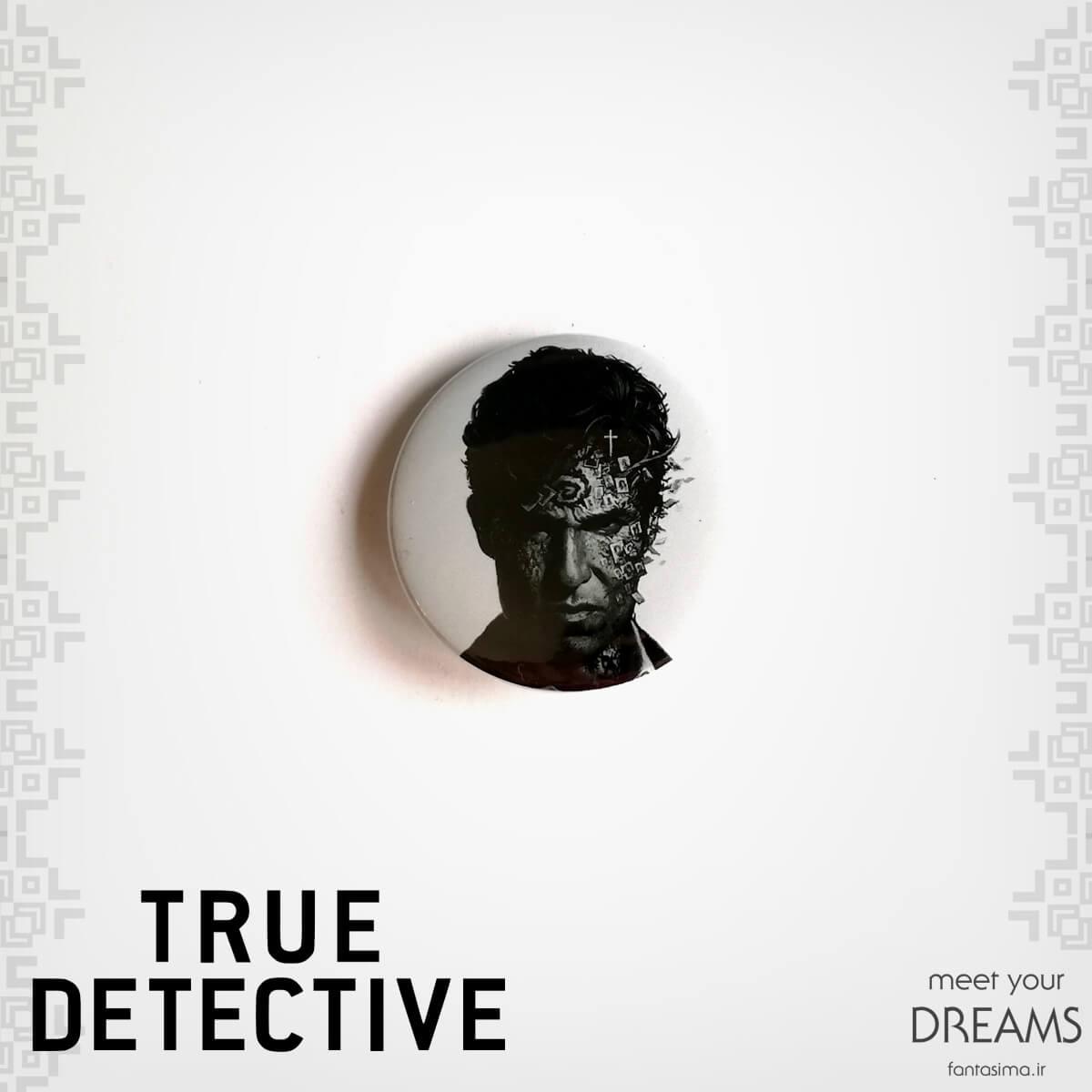 پیکسل فلزی راستین کول - true detective