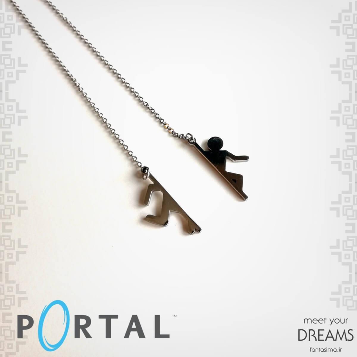 گردنبند استیل پورتال