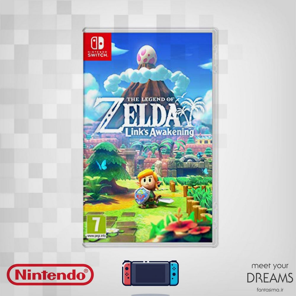 بازی zelda links awakening