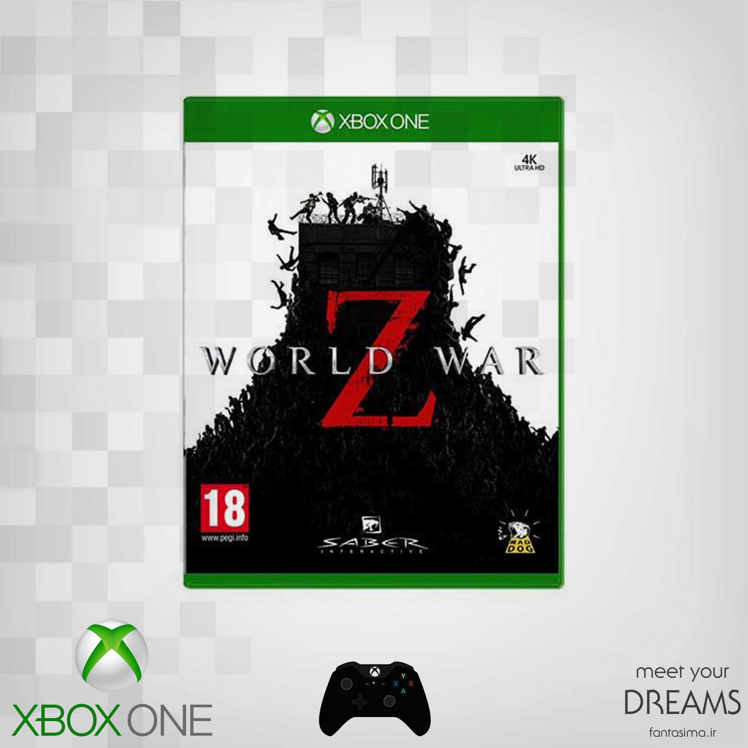 بازی xbox world war z