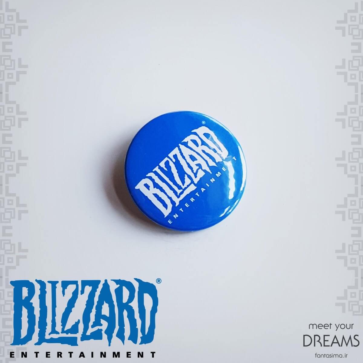 پیکسل فلزی blizzard