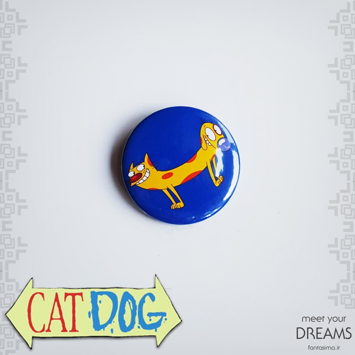 پیکسل فلزی گربه سگ