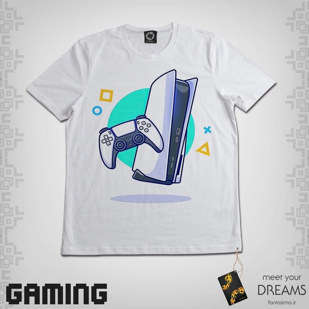 تیشرت کارتونی PS5