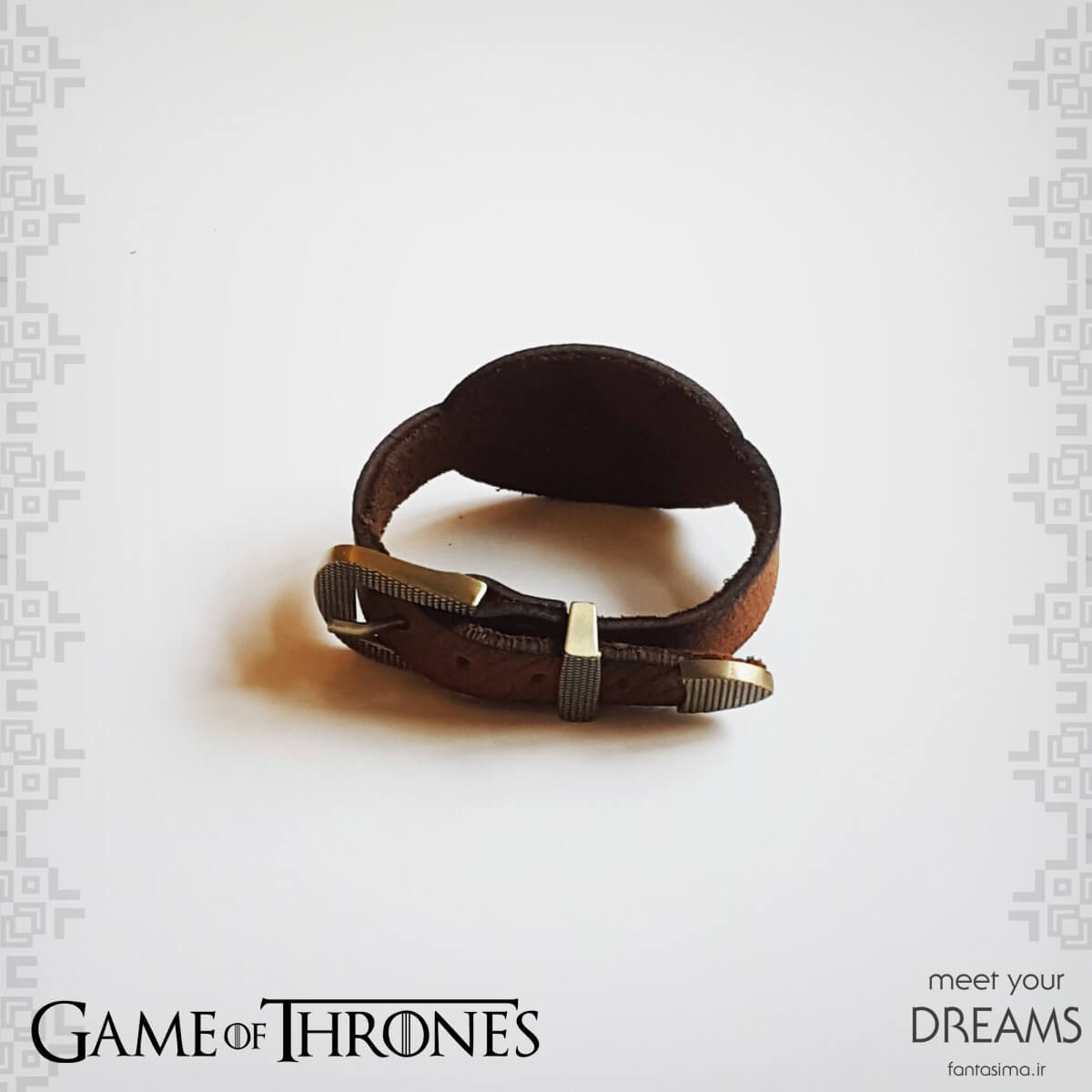 فانتزیآرت دستبند چرمی تارگرین