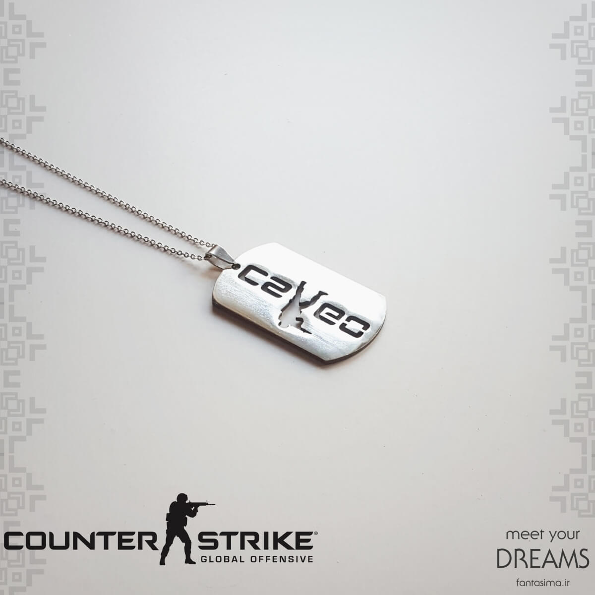 گردنبند counter strike