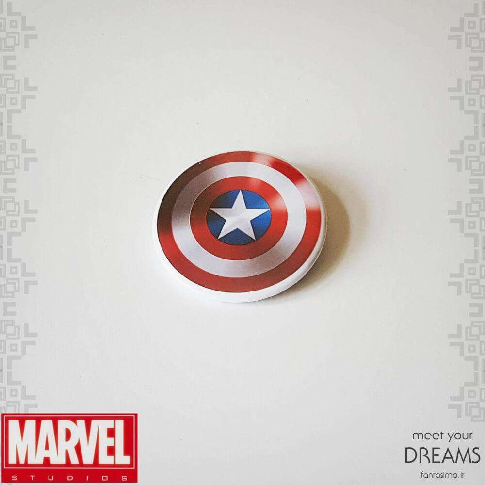 پیکسل فلزی سپر کاپیتان آمریکا