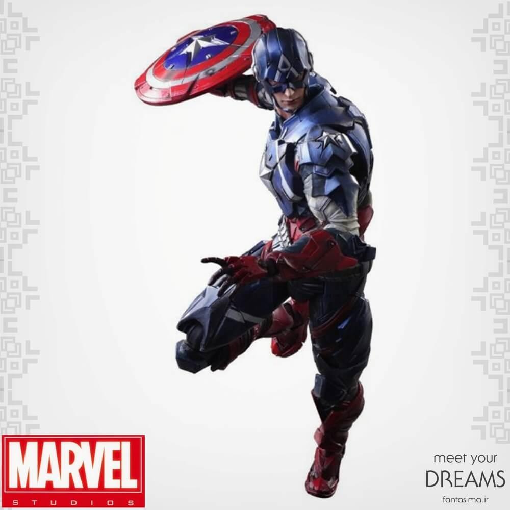 اکشن فیگور کاپیتان  آمریکا - پلی آرتز