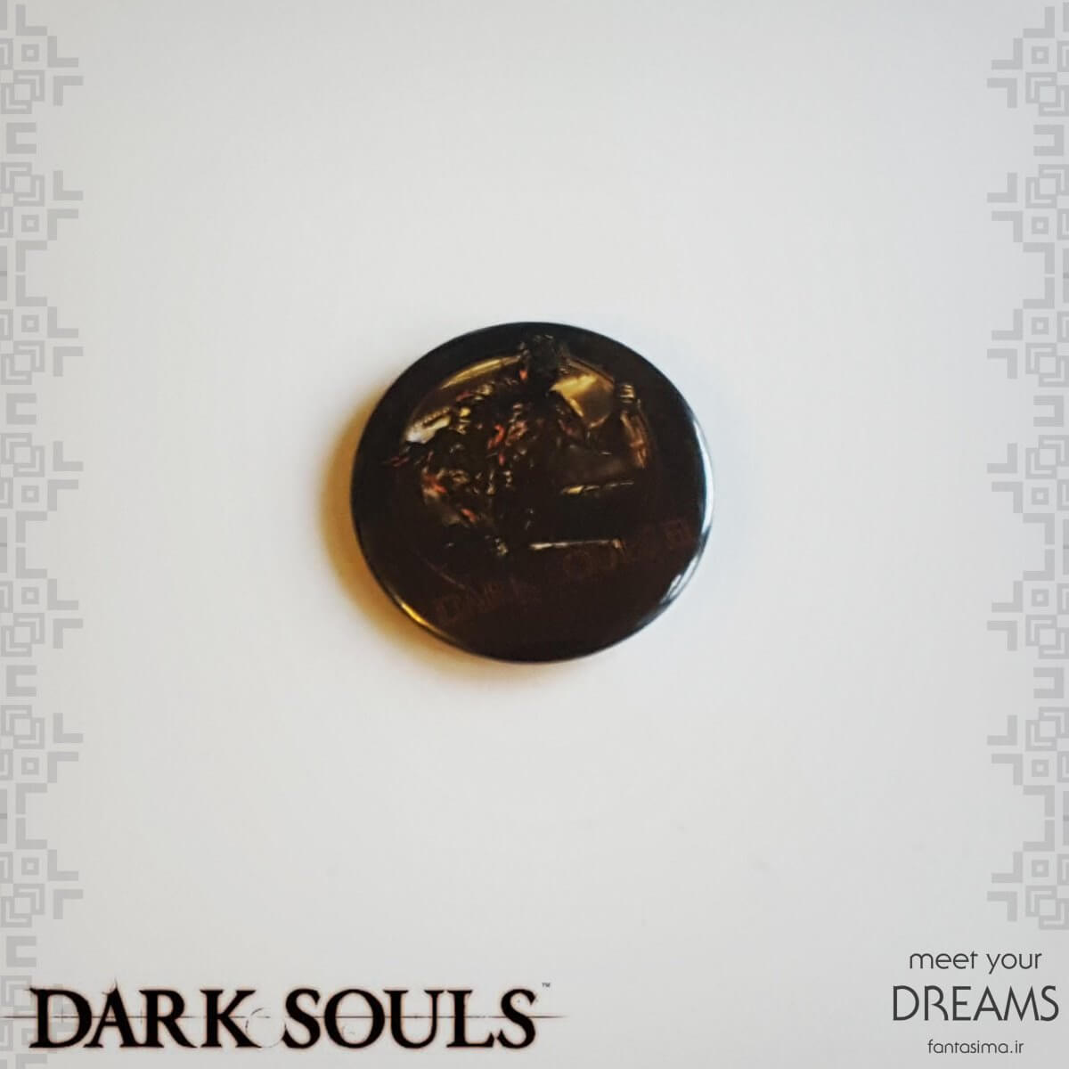 پیکسل فلزی darksouls III