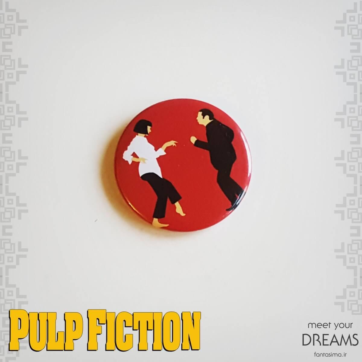 پیکسل فلزی pulp fiction