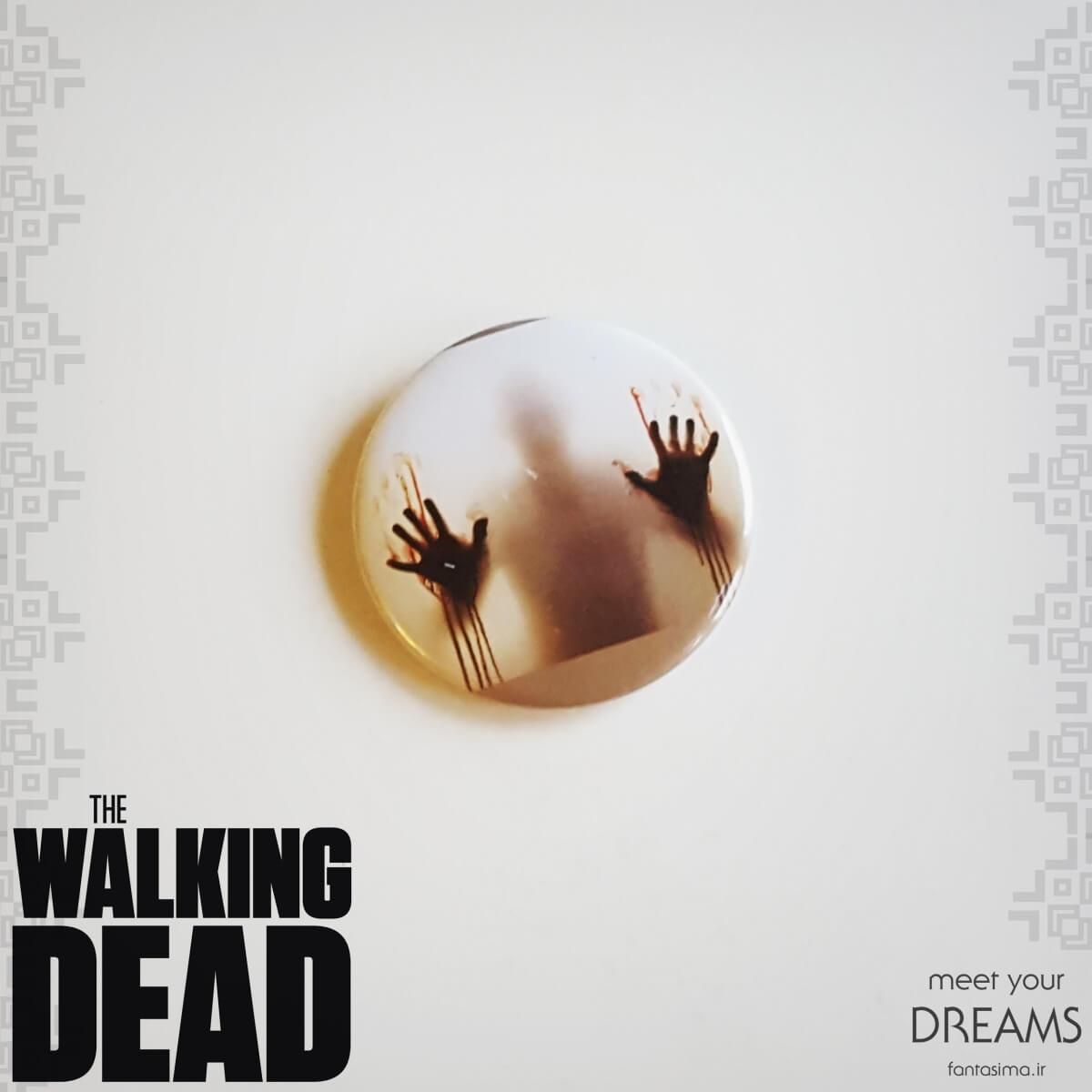 پیکسل فلزی walking dead