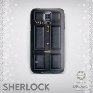 قاب موبایل درب خانه شرلوک هُلمز